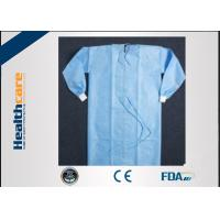 Buy cheap OEM Spunbonded Disposable Surgical Gowns Biodegradable Yellow Sterile from wholesalers