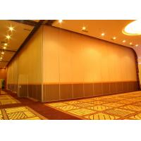 Buy cheap Office Hanging Sliding Door , 65mm Panel Operable Wall For Banquet Wedding Facility from wholesalers