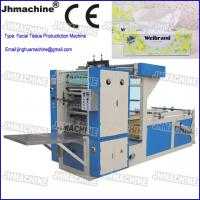 Buy cheap Automatic Facial Tissue Paper Production Line, Double Lane for box type tissue paper from wholesalers