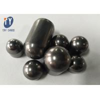 Buy cheap Drill Bit Inserts Cemented Tungsten Carbide Dome Buttons for Mining or Drilling from wholesalers