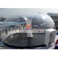 Buy cheap PVC Airtight Tent For Beach , Inflatable Clear Dome Tent Rain Resistance product