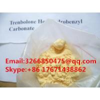 Buy cheap Effective Standard Oral Anabolic Androgenic Steroids Trenbolone Acetate For Muscle Increases CAS 10161-34-9 from wholesalers