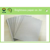 Buy cheap Mixed Pulp Laminated Grey Chipboard Paper Sheets For Calendar Eco Friendly from wholesalers