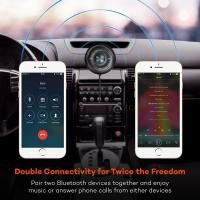 Buy cheap Bluetooth Car Speakerphone Kits,Hands-Free Motion AUTO-ON Car Kit Stereo Music Speaker Wireless Sun Visor Audio Receiver from wholesalers