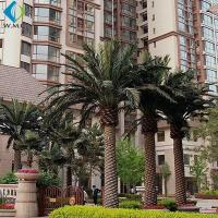Buy cheap Various Size Artificial Palm Trees For Hotel Pool Amusement Park Decoration from wholesalers