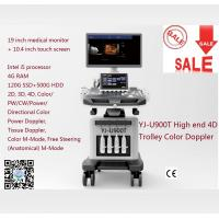 Buy cheap High End 4D Trolley Color Doppler Ultrasound Ultrasonic from wholesalers