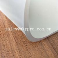 Buy cheap Smooth Latex Rubber Sheet Roll Non Toxic Silicone Soft White SBR Rubber Sheet from wholesalers