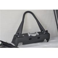 Buy cheap Aluminum / Steel Jeep Wrangler Front Bumper With Black Powder Coated Steel from wholesalers