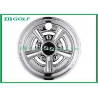 Buy cheap White 8 Inch Golf Cart Wheel Covers Hub Cap 31 X 25.9 X 25.1 Cm For Ezgo product