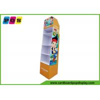 Buy cheap Corrugated Cardboard Toy Display Stand Paper Floor Rack For Promotion FL108 from wholesalers