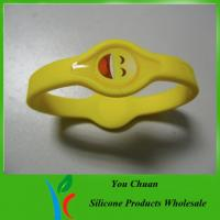 Buy cheap Power balance bracelets with smail face style from wholesalers