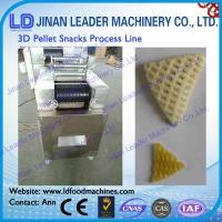 Buy cheap Advanced 2d 3d pellet snacks food making machine easy operation from wholesalers