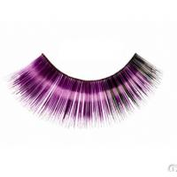 Buy cheap Fashion carnival colorful combined layers synthetic fibre party eyelashes from wholesalers
