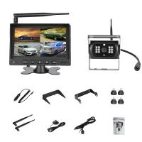 Buy cheap 12V or 24V night vision Truck wireless rear view camera Trailer reversing camera system 7in LCD monitor from wholesalers