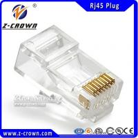 Buy cheap RJ45 8P8C Plug Cat5e RJ45 Connector product
