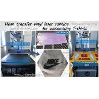 Buy cheap Unikonex laser cutting heat transfer vinyl for customizing T-shirt from wholesalers