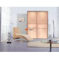 Buy cheap Modern Solid Wood / Plastic Partition Sliding Door for Cabinet / Wardrobe from wholesalers