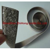 Buy cheap Special Silver plated conductive anti electromagnetic radiation hook and loop product