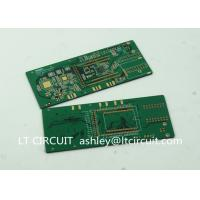 Buy cheap Six Layer BGA IC Immersion Gold Pcb Gold Plating White Legend PAD from wholesalers