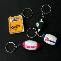 Buy cheap Wholesale Custom 3D Fashion Logo Key Tag Soft PVC Rubber Keychains For Promotion Gift from wholesalers