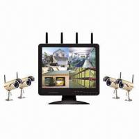 Buy cheap Digital Wireless 15-inch LCD DVR and Camera System from wholesalers