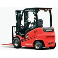 Buy cheap 1.8T Toyota 4 Wheel Electric Forklift Truck , Full-Free Mast And Sideshift from wholesalers