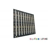 Buy cheap Multilayer PCB Circuit Board 6 Layers 0.8mm Board Thickness With Black Soler product
