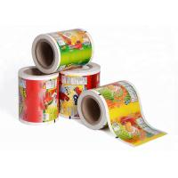 Buy cheap Printed Laminating Plastic Roll Film Packaging Roll Film Aluminum Foil Roll Of Film from wholesalers
