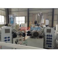 Buy cheap Plastic Double Screw Extruder Conical Twin Screw Extruder With Auto - Cutter from wholesalers
