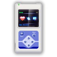 Buy cheap TLC5000 12 Channel Holter Portable ECG Machine with OLED Screen from wholesalers