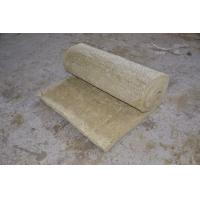 Buy cheap Fire Resistant Rockwool Insulation Blanket , Furnaces Rock Wool Roll from wholesalers