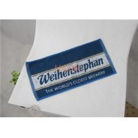 Buy cheap 100% Cotton Hotel Hand Towels With Full Size Reactive Print Logo from wholesalers