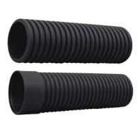 Buy cheap HDPE Dwc SN8 with Socket End Pipe PE Corrugated Pipe from wholesalers