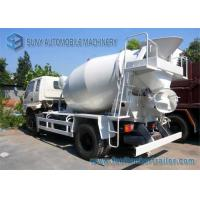 Buy cheap 6 Cbm T King Concrete Mixer Truck 4100 MM Wheelbase Yuchai 130 Hp Engine from wholesalers