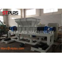 Buy cheap Double Shaft plastic metal Rubber tire waste Electronic scrap Shredder Machine from wholesalers