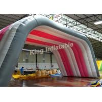 Buy cheap Custom white  Inflatable tent size 10*5*5m for shelter or advertising from Wholesalers
