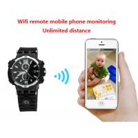Buy cheap Y33 8GB 720P WIFI IP Spy Watch Camera Home Security Smart Remote CCTV Video Monitor IR Night Vision Nanny Baby Monitor from wholesalers