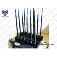 Buy cheap GSM DCS Cell Phone Blocking Device 12 Bands Frequency Ranges 130 To 500Mhz product