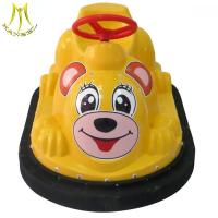 Buy cheap Hansel electronic game machine plastic indoor toy bumper car for kids from wholesalers