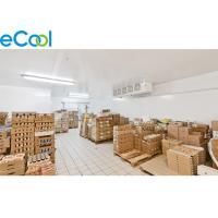 Buy cheap 32 ℉~35F  Insulated Board Dairy Products Cold  Rooms  Warehouse With Refrigeration System from wholesalers