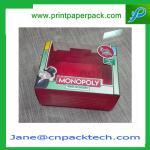 Buy cheap Custom Printed PVC Window Box Toy Box Candy Box Rigid Cardboard Paper Gift Box from wholesalers