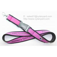 Buy cheap Sublimated neoprene neck lanyard with merrow from China lanyard factory product