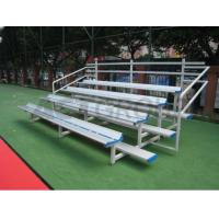 Buy cheap School Portable Outdoor Aluminum Bleachers , University Aluminum Sports Benches from wholesalers