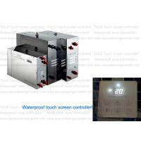 Buy cheap Wet Sauna Steam Generator with touch screen control panel , 15 kilowatt product