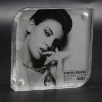 Buy cheap Acrylic photo frame with magnet from wholesalers
