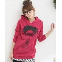 Buy cheap Fashion Girl′s Printing Sport Casual Cotton Fleece Pullover Hoody (JX-7-9-1) from wholesalers