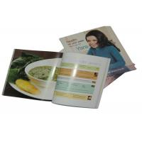 Buy cheap Saddle Stitch Offset Food menu Cook Photo Book Printing Service Glue Binding from wholesalers