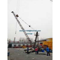 Buy cheap D3015 Derrick Tower Crane 30mts Luffing Jib 1.5tons Tip Load FOB Price from wholesalers