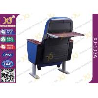 Buy cheap 2 Seater Polyethylene Theatre Plastic Blow Mould Seating Chairs Folded Tablet In product