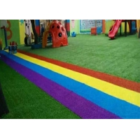 Buy cheap Non Infill Needed Durable Playground Synthetic Grass Mat product